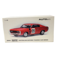 1:18 Valiant Charger 05 Red 2005 Australian Historic Touring Car Series