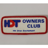 HDT Owners Club Cloth Patch