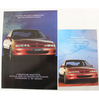 Holden VR Commodore Booklets