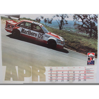 Marlboro HDT Calendar - April 1984
