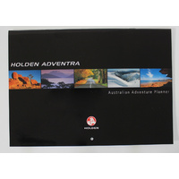 Holden Adventra Calendar - 2004