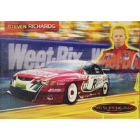 Steven Richards Castrol Driver Info Card