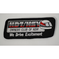 Black HDT/HSV Owners Club Cloth Patch