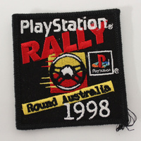 1998 Playstation Rally Round Australia Cloth Patch