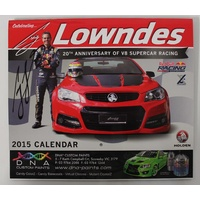 Red Bull Racing Craig Lowndes Signed 2015 Calendar