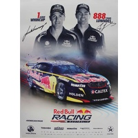 Signed Red Bull Poster