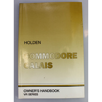 Holden VR Commodore & Calais Owners Handbook (Print 9)