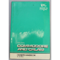 Holden VL Commodore & Calais Owners Handbook (Print 2)