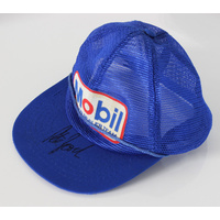 Peter Brock Signed Mobil HDT Cap