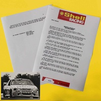 Dick Johnson 1993 Ford EB Falcon Photo & Media Release Kit Copy
