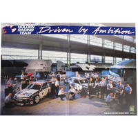 1996 Mobil Holden Racing Team Fold Out Brochure