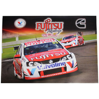 #33 #34 Caruso Holdsworth V8 Supercars Poster