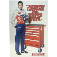 Sidchrome Tools Rick Kelly Signed Poster