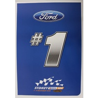 Ford #1 2009 Sydney 500 Promotional Card