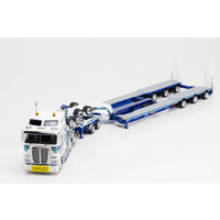 1:50 Kenworth K200 Prime Mover Drake 2x8 Dolly 3x8 Swingwing Trailer Mactrans