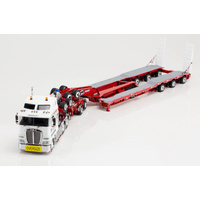 1:50 Kenworth K200 Prime Mover Drake 2x8 Dolly 3x8 Swingwing Trailer HIGGS Heavy Haulage