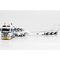 1:50 Kenworth K200 Prime Mover Drake 2x8 Dolly 3x8 Swingwing Trailer Link Low Loaders
