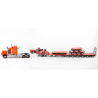 Orange  C509 Prime Mover with 7x8 Steerable Trailer & Accessory Kit