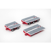 White / Red Drake Steerable Trailer Accessory Kit