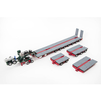 Membrey's 7x8 Steerable Trailer with Accessory Kit