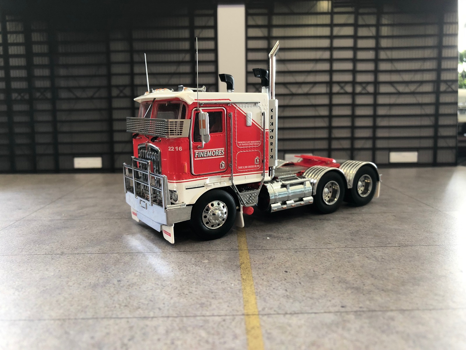 New Iconic Replicas 1:50 1998 Kenworth K100G Prime Mover Truck Model Toll