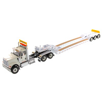HX520 & XL 120 Low-Profile HDG Trailer - White