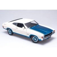 1:18 Polar White / Cosmic Blue 1974 XA Falcon Superbird