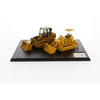 1:50 977 & 963K Track Loaders Pair