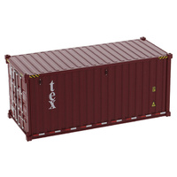 "1:50 20"" Dry Goods Sea Shipping Container - Tex"