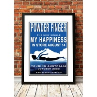Powderfinger 'My Happiness' Poster 2000