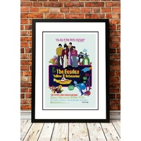 The Beatles 'Yellow Submarine' Poster 1968