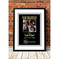 The Beatles 'Let It Be' Poster 1970