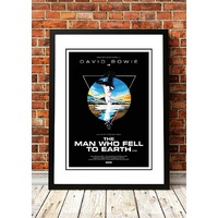 David Bowie 'Man Who Fell to Earth' Poster 1976