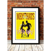 Men Without Hats 'Safety Dance' Poster 1983