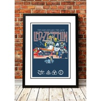 Led Zeppelin 'Song Remains the Same' Poster 1976