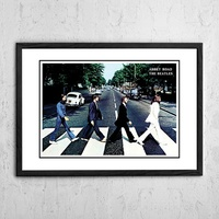 The Beatles 'Abbey Road' Poster 1969