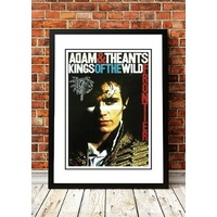 Adam and the Ants 'Kings of the Wild Frontier' Poster 1980
