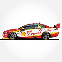 Fabian Coulthard 2018 Ford FGX Falcon