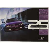 Holden Commodore 25th Anniversary Booklet