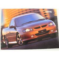 Holden Commodore VU Ute Series 1 Brochure