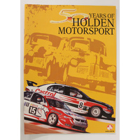 50 Years Of Holden Motorsport Booklet