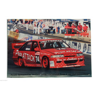 Holden VP Commodore Kevin Heffernan Signed Poster
