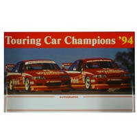 Holden Mark Skaife & Jim Richards Autograph Poster