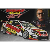2012 Supercheap Auto Racing  Information Card
