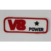 Red V8 Power Cloth Patch