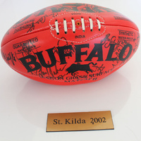 Signed St. Kilda 2002 Football