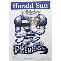 Geelong Cats AFL 2011 Premiers Poster