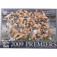 Geelong Cats AFL 2009 Premiers Group Poster