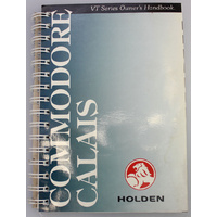 Holden VT Commodore Calais Owners Handbook (Print 4)