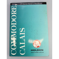 Holden VY Commodore Calais Owners Handbook (Print 2)